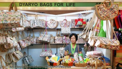 Dyaryo Bags for Life booth in Glorietta Activity Center, Makati City for Likha ng Central Luzon 2014!
